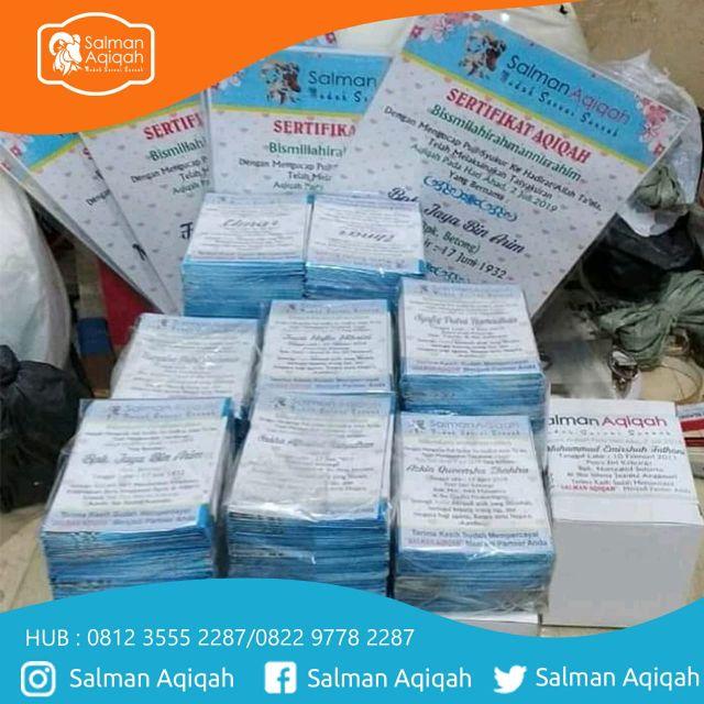 Layanan Aqiqah Murah di Lokasi Kalong 1 Kabupaten Bogor